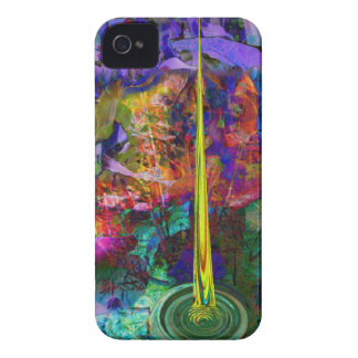 Abstract big bang iPhone 4 casemate by Valxart iPhone 4 Case-Mate Case
