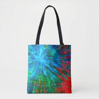 Abstract Big Bangs 001 Multicolored Tote Bag