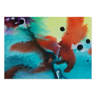 Abstract Bird Sitting On Limb Large Business Cards (Pack Of 100)