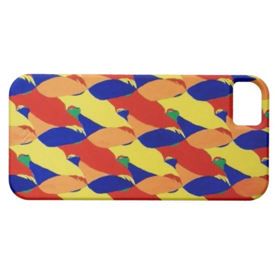 Abstract Birds Mofif ~ iPhone Case
