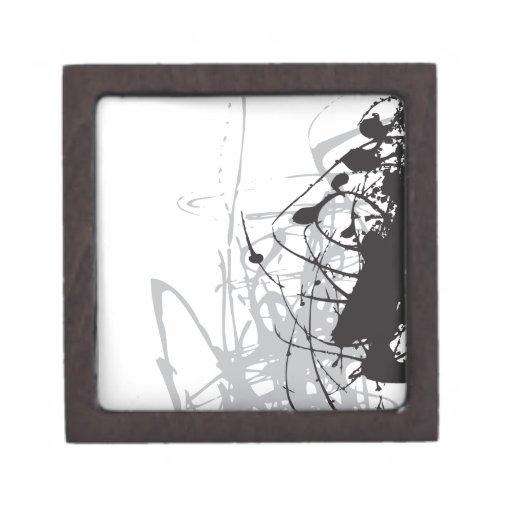 abstract black and white art vo1 premium gift box