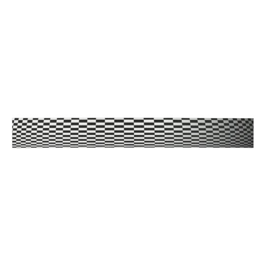 Abstract Black And White Checkered Ribbon Zazzlecom