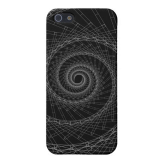 abstract black and white cover for iPhone SE/5/5s