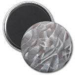 Abstract Black and White Magnet