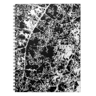 Abstract Black and White Notebook