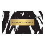 Abstract Black Brushstrokes for Makeup Artist Double-Sided Standard Business Cards (Pack Of 100)