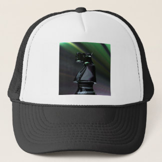 Abstract Black Knight Trucker Hat