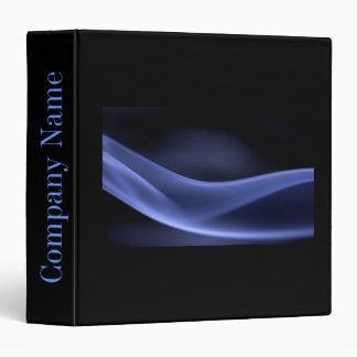 abstract black navy blue modern minimalist binder