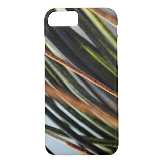 abstract black red and green urban photograph iPhone 8/7 case