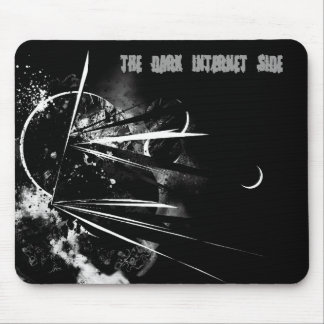 Abstract-Black THE DARK INTERNET SIDE Mouse Pad