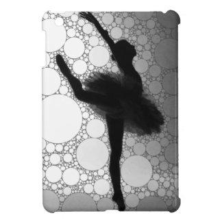 Abstract Black & White Dancing Ballerina iPad Mini Case