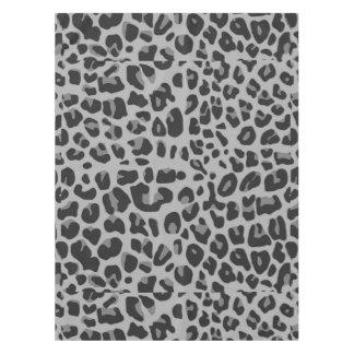 Abstract Black White Hipster Cheetah Animal Print Tablecloth