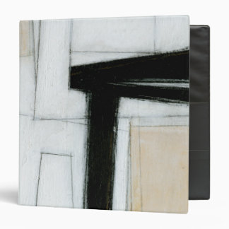 Abstract Black & White Painting Binder