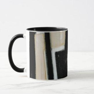 Abstract Black & White Painting Mug