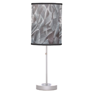 Abstract Black Amp White Table Lamp
