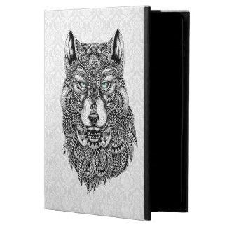 Abstract Black Wolf Head Ornate Illustration Powis iPad Air 2 Case