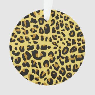 Abstract Black Yellow Hipster Cheetah Animal Print