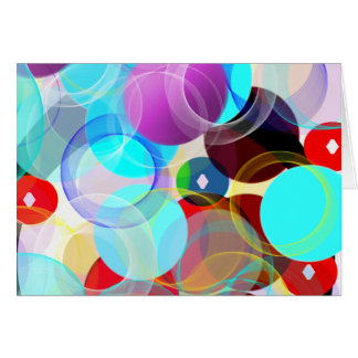 Abstract Blank Card
