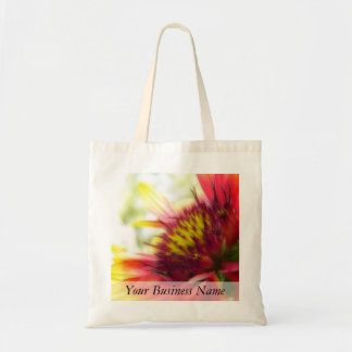 Abstract Blanket Flower Bloom Tote Bag