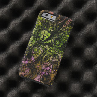 Abstract Bling Tough iPhone 6 Case