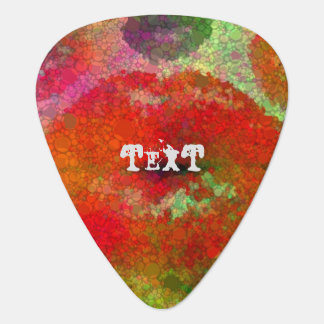 Abstract Bling Custom celluloid Guitar Pick