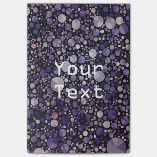 Abstract Bling  Pattern Notes Pad Post-it® Notes