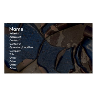 Abstract Blistered automotive paint Double-Sided Standard Business Cards (Pack Of 100)