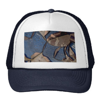 Abstract Blistered automotive paint Trucker Hat