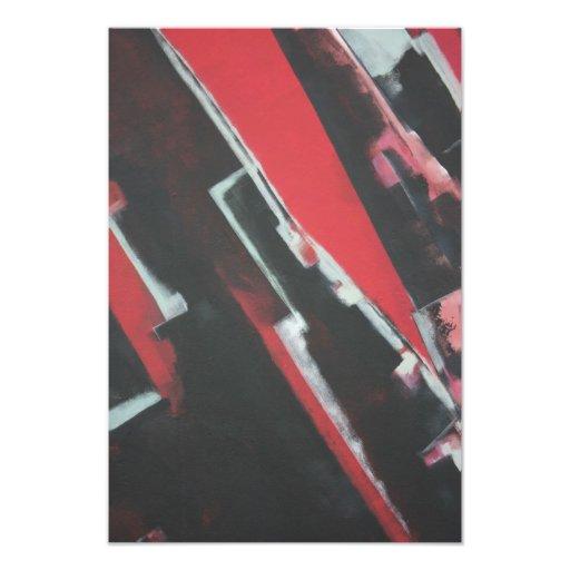 Abstract - blocks photo print