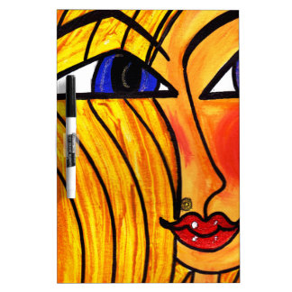 Abstract Blonds Dry-Erase Boards