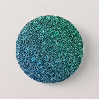 Abstract Blue And Green Shapes Button