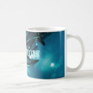 Abstract-Blue Aquarius Coffee Mug