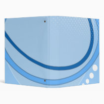 ABSTRACT BLUE AVERY BINDER