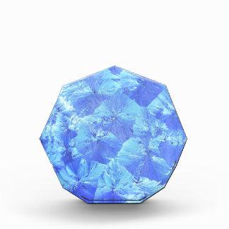 Abstract blue background acrylic award