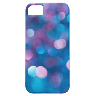 Abstract blue background iPhone SE/5/5s case