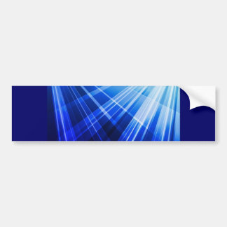 Abstract-Blue-Background-Vector ROYAL BLUE WHITE P Bumper Sticker