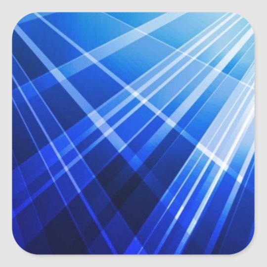Abstract-Blue-Background-Vector ROYAL BLUE WHITE P Square Sticker