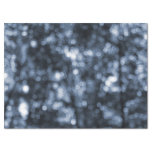 "Abstract Blue Bokeh Tissue Paper 17"" X 23"" Tissue Paper"