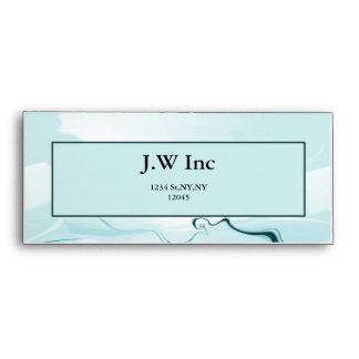 abstract blue Business Envelope