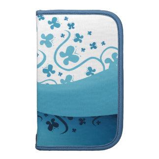 Abstract Blue Butterflies Organizer