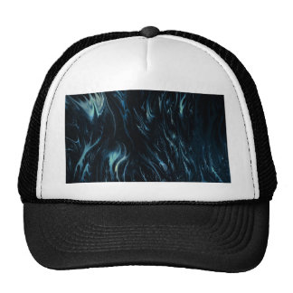 abstract blue by rafi talby trucker hat