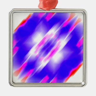 Abstract Blue Dream Metal Ornament