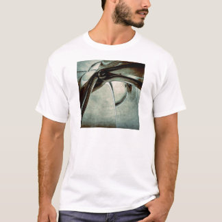 Abstract Blue Form T-Shirt