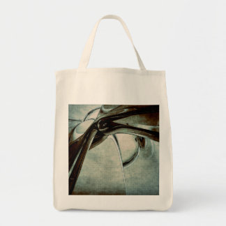 Abstract Blue Form Tote Bag