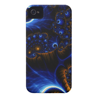 Abstract Blue Fractal Sky Blackberry Bold Case