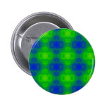 Abstract Blue Green Blurred Button