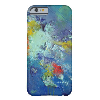 Abstract Blue Green Colorful Phone Case Barely There iPhone 6 Case