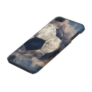 Abstract Blue Grunge Soccer iPod Touch 5G Cover