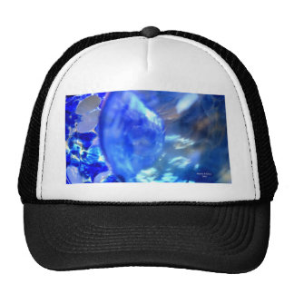 Abstract Blue.JPG Trucker Hat