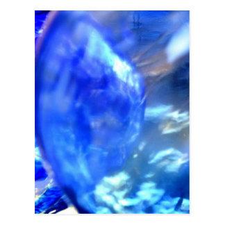 Abstract Blue.JPG Postcard